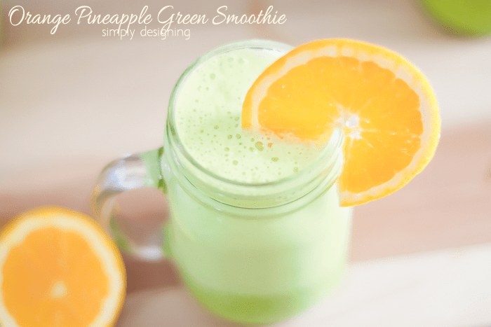 Green Orange Smoothie
