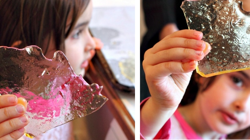 edible glass
