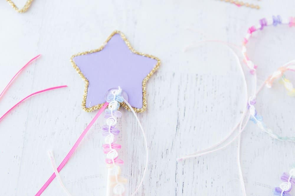 Wooden Star Wands