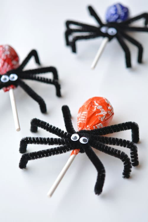 Mmm, Delicious Spider Craft