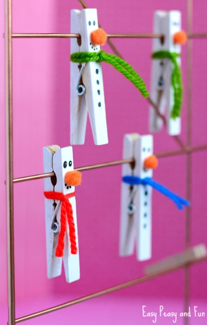 Stick A Pin In This Snowman Craft