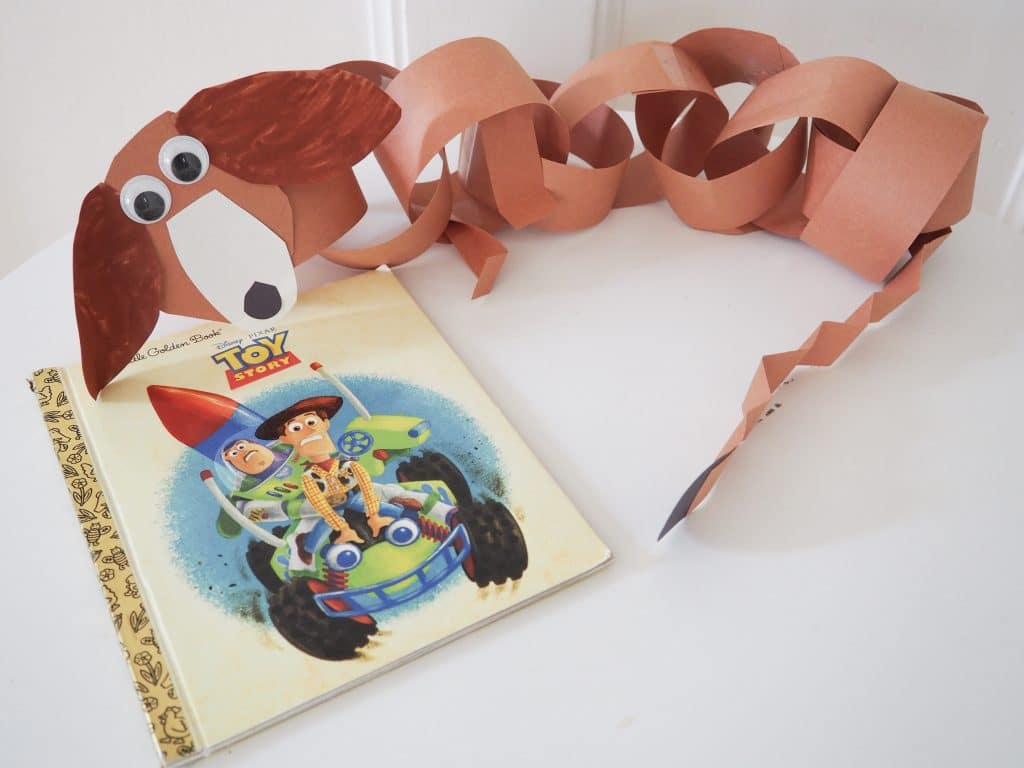 Easy Toy Story Dog Craft