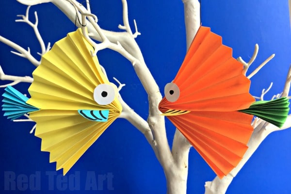 A Fan Of Fish Crafts