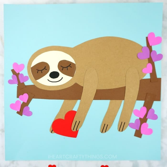 Be My Sloth Valentine