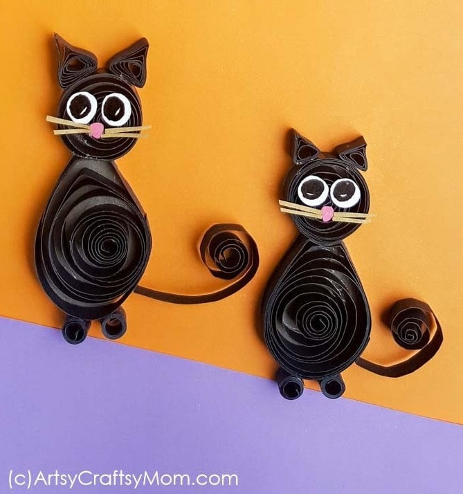 Chubby Paper Cat Crafts