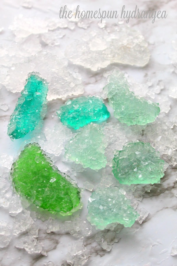 Grow Your Own Crystals Beach Craft