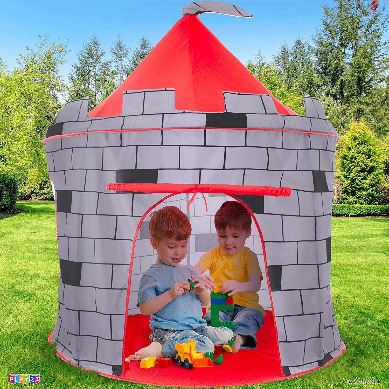 Play 22 – Knight Castle Play Tent