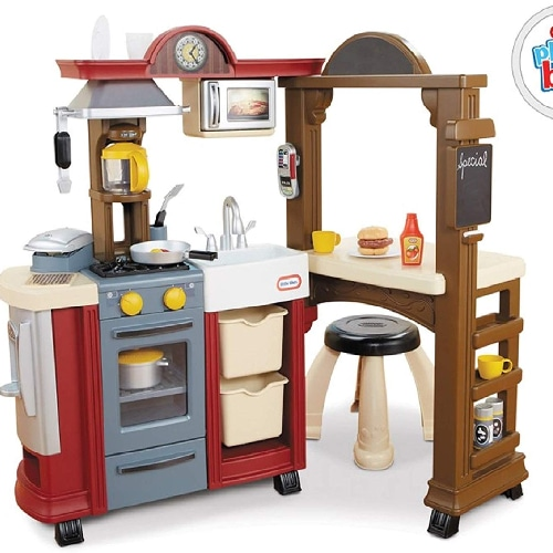 Kitchen & Restaurant Combo Playset