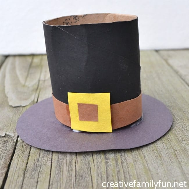 Pilgrim Hat Thanksgiving Craft