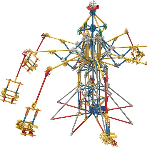 Thrill Rides K'NEX Amusement Part Set