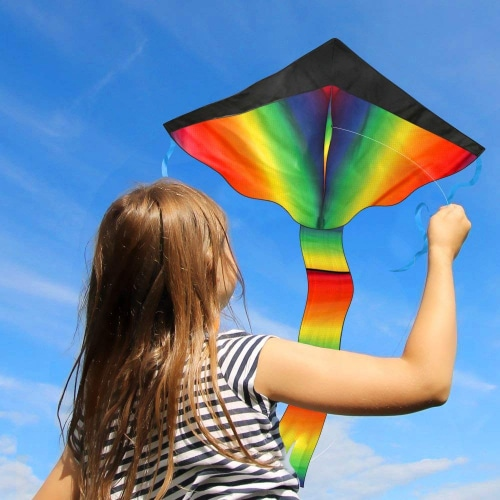 Huge Rainbow Kite